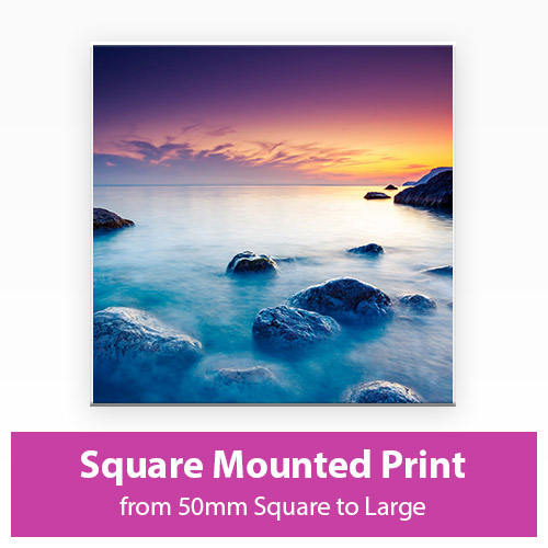 Picture of Square Mounted Print