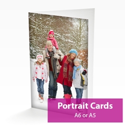 Picture of Portrait Personalised Card