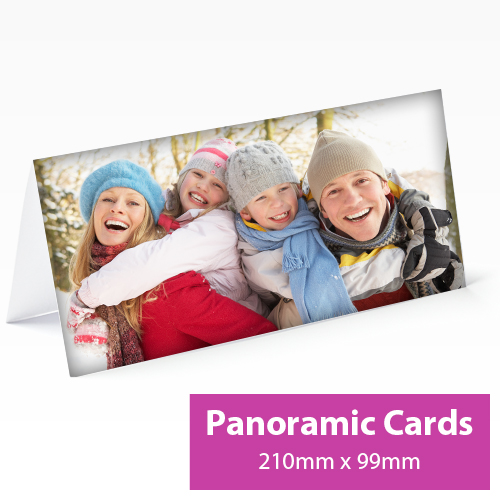 Picture of Panoramic Personalised Card