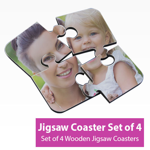 Picture of Jigsaw Coasters - Set of 4