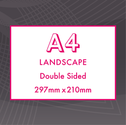 Picture of A4 Landscape - Double Sided Flyers