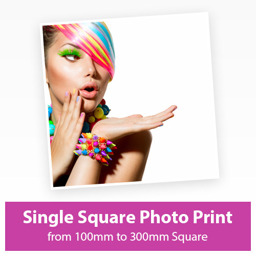 Picture of Single Square Photo Print
