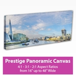 Picture of Prestige Panoramic Canvas Print