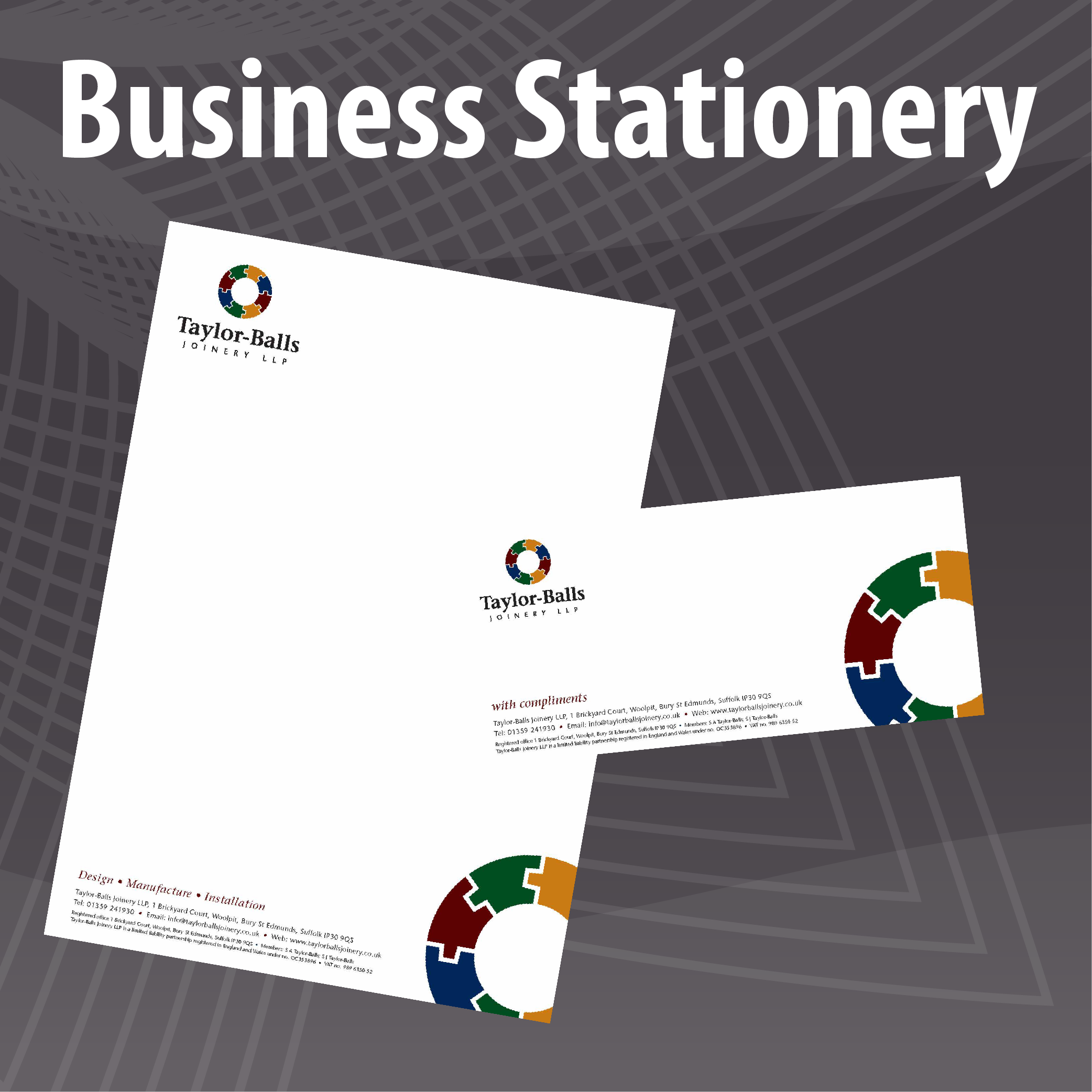 Low Cost Letterhead and Compliments Slip Printing