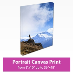 Picture of Portrait Canvas Print