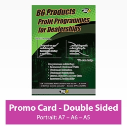 Picture of Promotional Card - Portrait - Double Sided