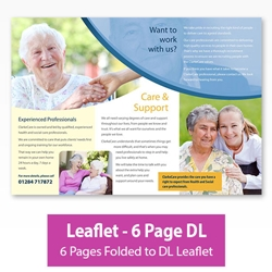 Picture of Leaflet - 6 Page DL