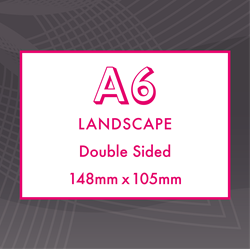 Picture of A6 Landscape - Double Sided Flyers