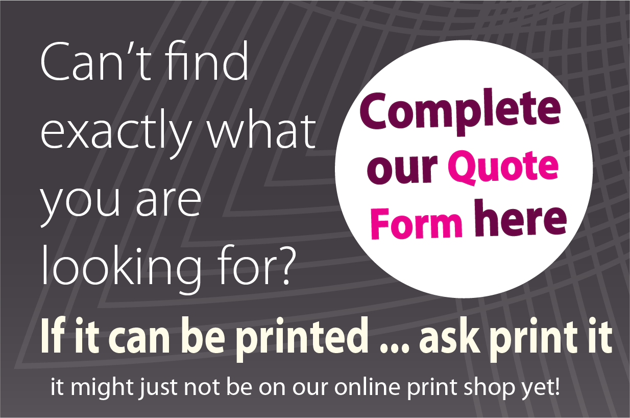 Request a low cost ask print shop quote