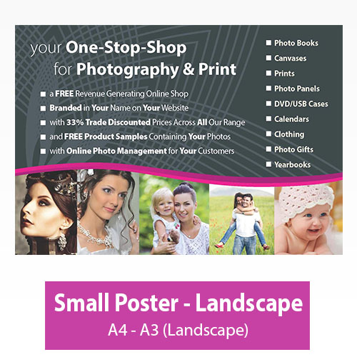Picture of Small Poster - Landscape