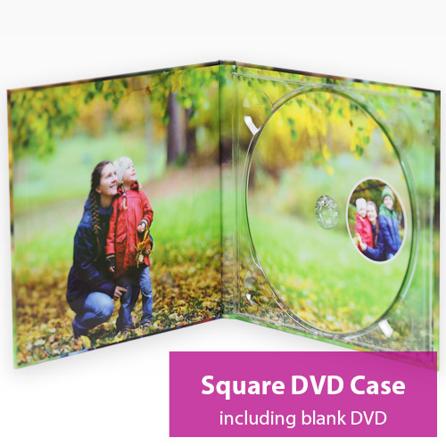 Picture of Square DVD Case