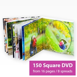 Picture of Square DVD Book