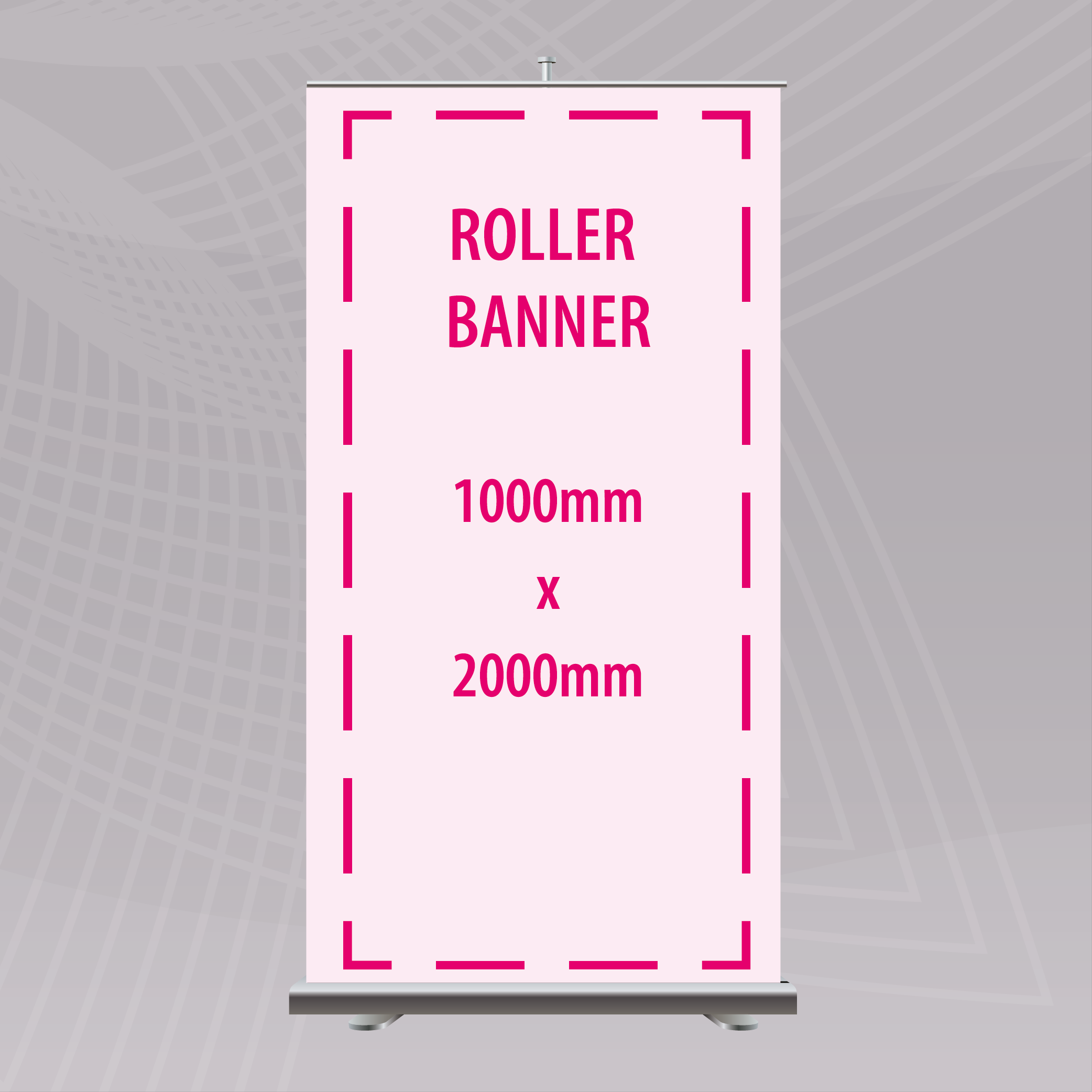 Picture of 1000 x 2000mm Roller Banner