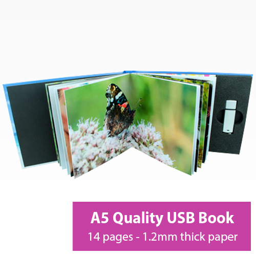 Picture of A5 14 Page USB Book