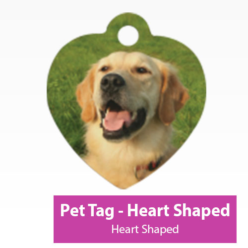 Picture of Pet Tag - Heart Shaped