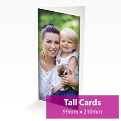 Picture of Tall Personalised Card