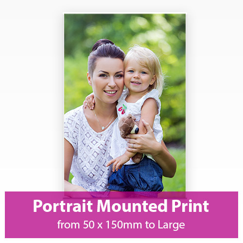 Picture of Portrait Mounted Print