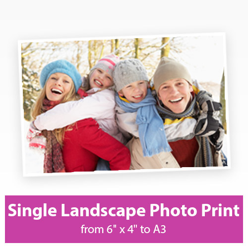 Picture of Single Landscape Photo Print