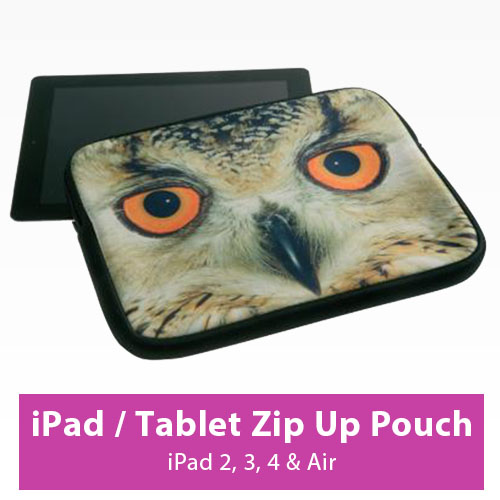 Picture of iPad / Tablet Zip Up Pouch