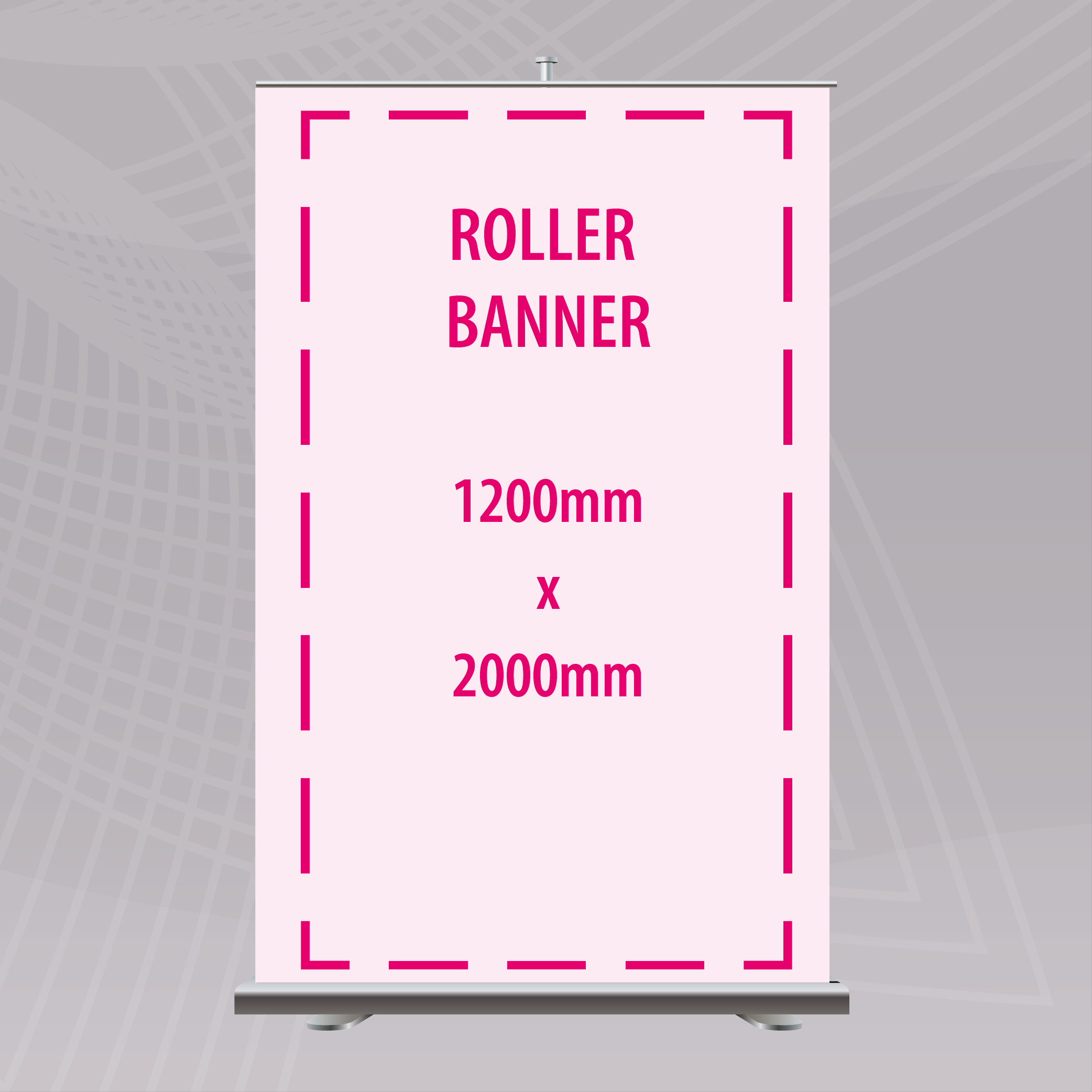 Picture of 1200 x 2000mm Roller Banner