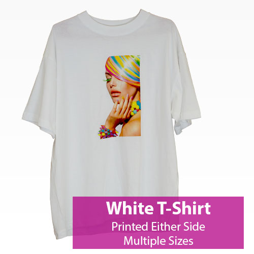 Picture of Printed White T-Shirt