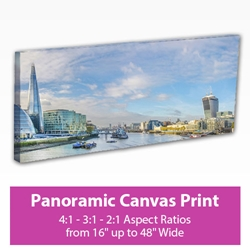 Picture of Panoramic Canvas Print
