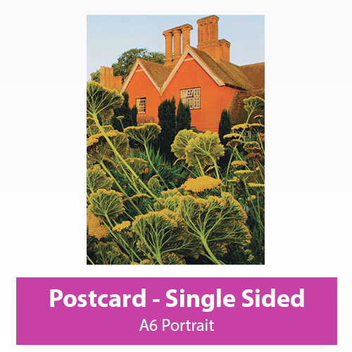 Picture of Postcard - Portrait - Single Sided