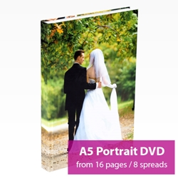 Picture of Portrait A5 DVD Book