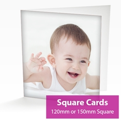 Picture of Square Personalised Card