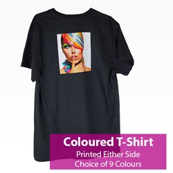 Picture of Printed Coloured T-Shirt