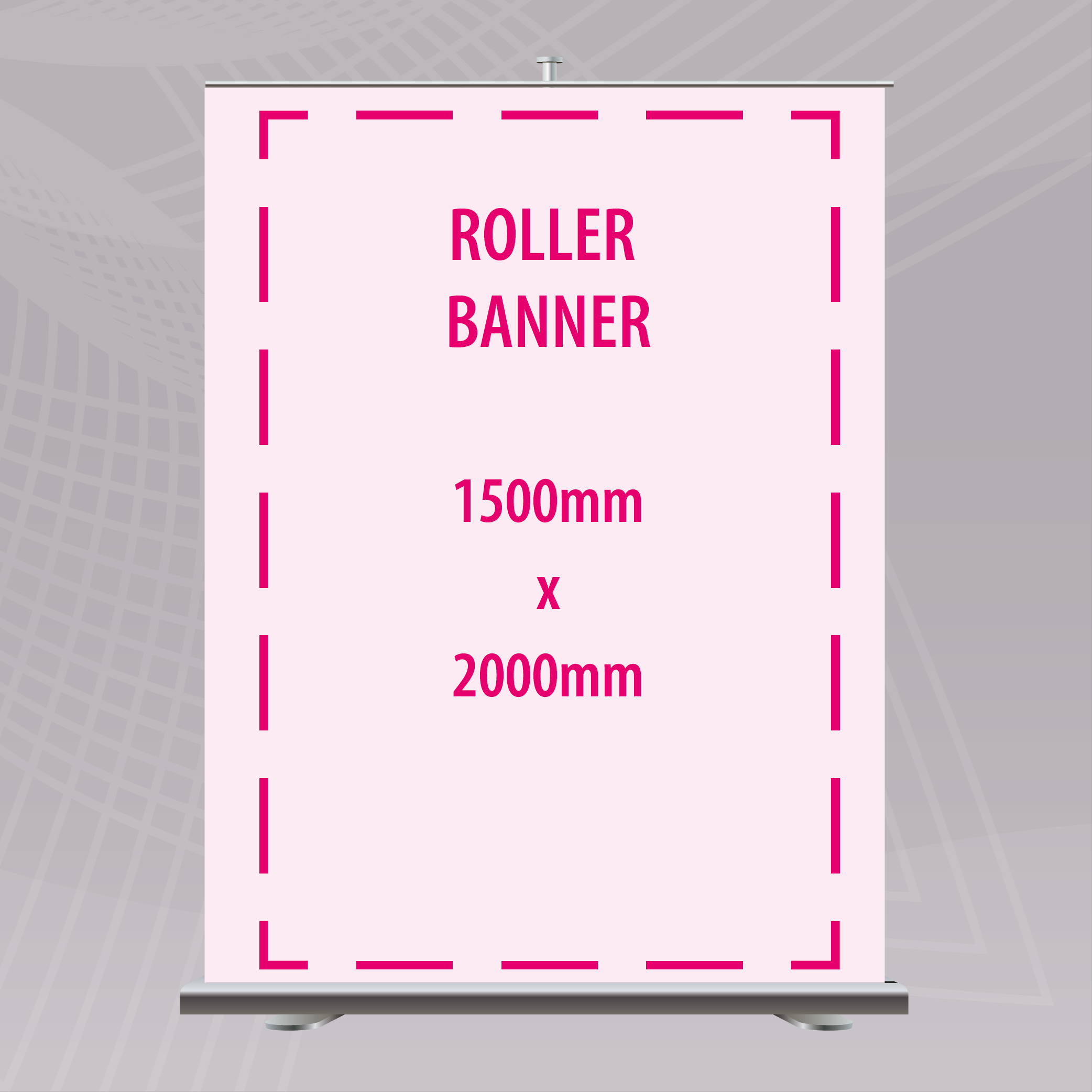 Picture of 1500 x 2000mm Roller Banner
