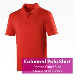 Picture of Printed Coloured Polo Shirt
