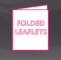 Picture for category Folded Leaflets