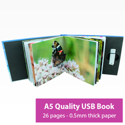 Picture of A5 26 Page USB Book