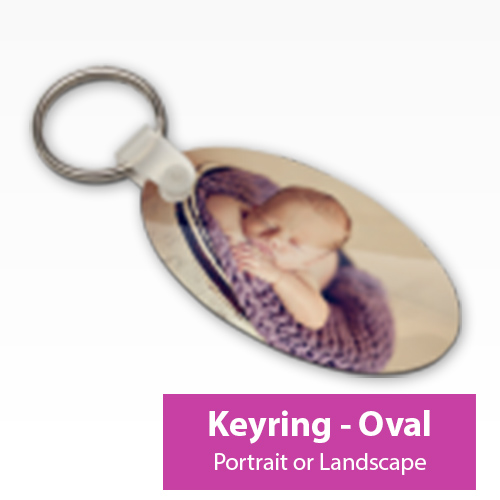 Picture of Keyring - Oval