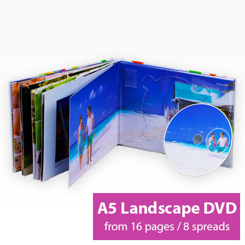 Picture of Landscape A5 DVD Book
