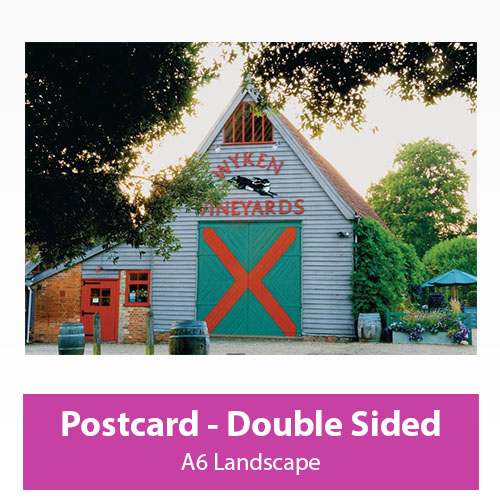 Picture of Postcard - Landscape - Double Sided