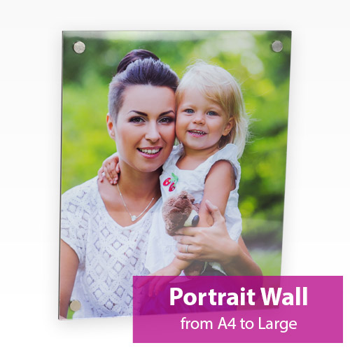 Picture of Portrait Acrylic Wall Panel