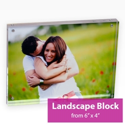 Picture of Landscape Acrylic Block