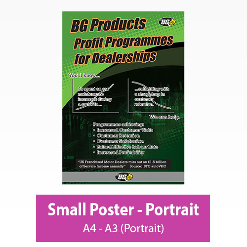 Picture of Small Poster - Portrait