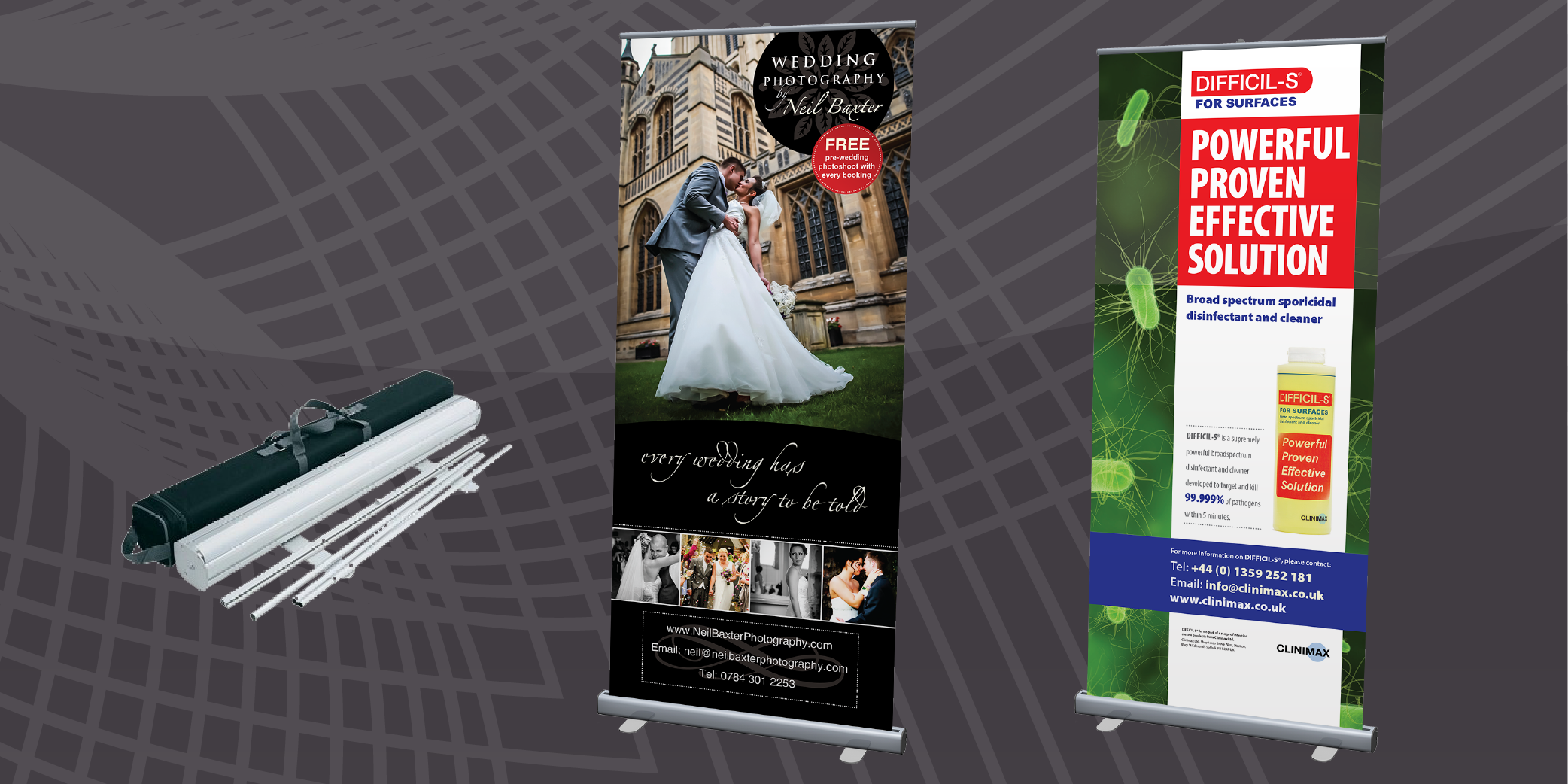 Low Cost Roller Banner Printing from ASK Print